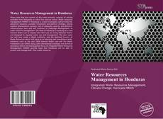 Bookcover of Water Resources Management in Honduras