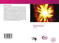 Buchcover von André Lerond