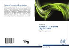 Bookcover of National Transplant Organization