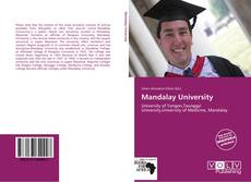 Bookcover of Mandalay University
