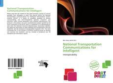 Portada del libro de National Transportation Communications for Intelligent