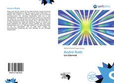 Portada del libro de André Ratti