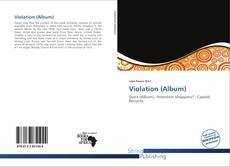 Bookcover of Violation (Album)