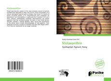 Buchcover von Violaxanthin