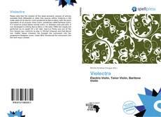 Buchcover von Violectra