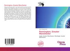 Bookcover of Pennington, Greater Manchester