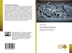 Buchcover von The Biblical Donkey