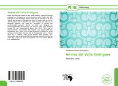 Bookcover of Andrés del Valle Rodríguez