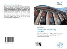 Bookcover of Montana University System