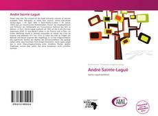 Bookcover of André Sainte-Laguë
