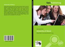 Portada del libro de University of Mosul