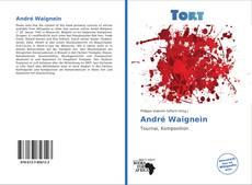 André Waignein kitap kapağı