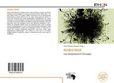 Couverture de André Weil
