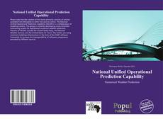 Обложка National Unified Operational Prediction Capability