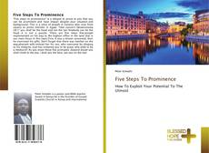 Buchcover von Five Steps To Prominence
