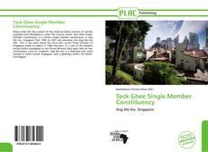 Portada del libro de Teck Ghee Single Member Constituency