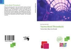 Tecmo Bowl Throwback kitap kapağı
