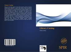 Bookcover of Library Catalog