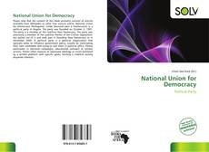 Portada del libro de National Union for Democracy