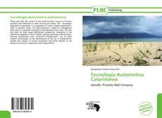 Tecnologia Automotiva Catarinense kitap kapağı