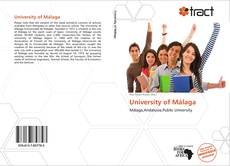 Bookcover of University of Málaga