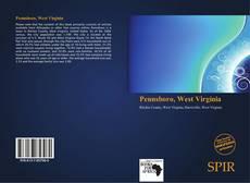 Bookcover of Pennsboro, West Virginia