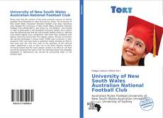 Bookcover of University of New South Wales Australian National Football Club
