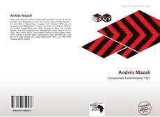 Bookcover of Andrés Mazali