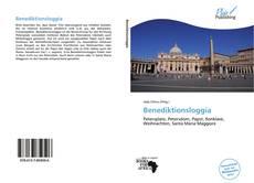 Benediktionsloggia kitap kapağı