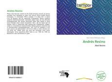 Copertina di Andrés Resino