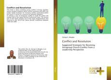 Bookcover of Conflict and Resolution