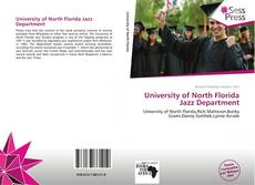 Bookcover of University of North Florida Jazz Department