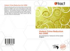 Bookcover of Violent Crime Reduction Act 2006