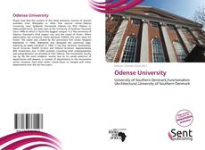 Bookcover of Odense University