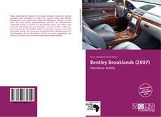Borítókép a  Bentley Brooklands (2007) - hoz