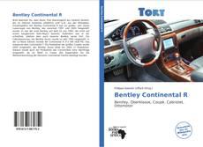 Capa do livro de Bentley Continental R