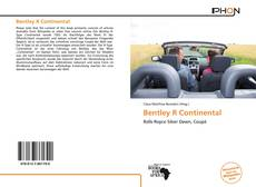 Capa do livro de Bentley R Continental