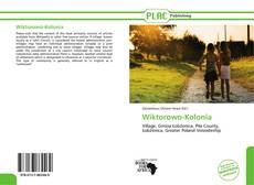 Portada del libro de Wiktorowo-Kolonia