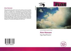 Couverture de Ane Hansen