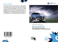 Portada del libro de Benz 12/30 PS