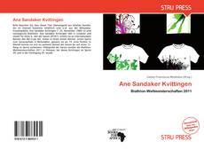 Couverture de Ane Sandaker Kvittingen