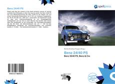 Bookcover of Benz 24/40 PS