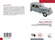 Bookcover of Benz 25/65 PS