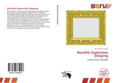 Borítókép a  Benefits Supervisor Sleeping - hoz