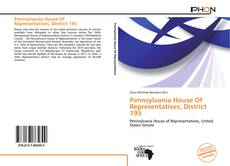 Bookcover of Pennsylvania House Of Representatives, District 195