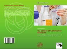 Bookcover of OU School of Community Medicine