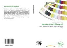 Capa do livro de Benvenuto di Giovanni