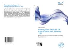 Bookcover of Pennsylvania House Of Representatives, District 160