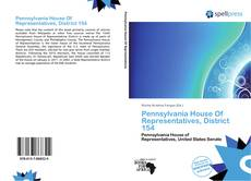Buchcover von Pennsylvania House Of Representatives, District 154