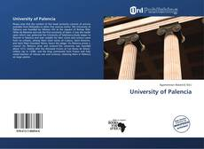 Bookcover of University of Palencia